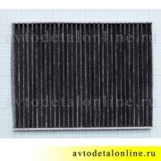 Воздушный угольный фильтр салона УАЗ Патриот до 2012 г, замена 3163-8101140-10, размеры на фото