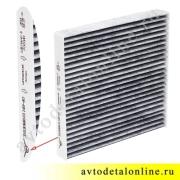 Воздушный угольный салонный фильтр УАЗ Патриот после 2012 г, замена 3163-8101140-40, фото